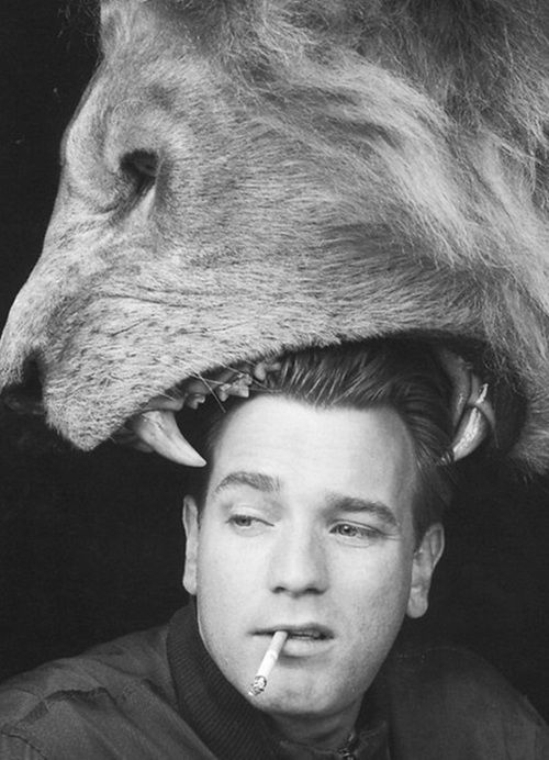 Ewan: Lion, Spirit Guide, This Men, Beautiful, Actor, Mouths, Ewanmcgregor, Photography, Ewan Mcgregor