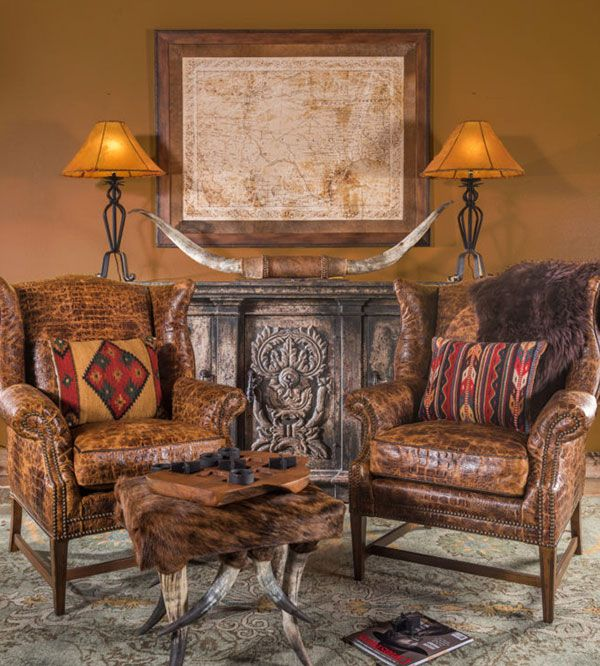 Deck The Halls Of Your Home With Furniture From Adobe Interiors Cowgirl Magazine Western Living Room Decor Southwestern Home Decor Western Home Decor #western #living #room #sets