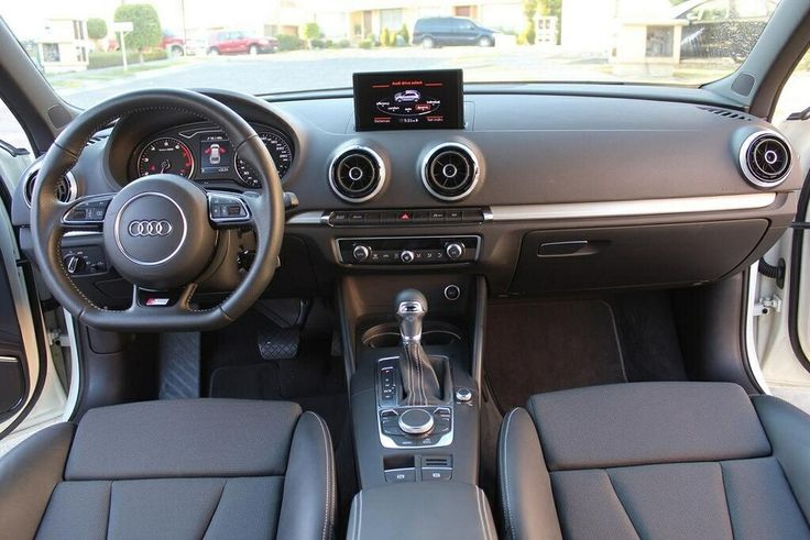 Audi A3 S Line interior