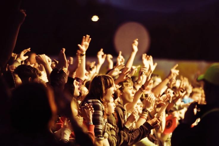 Make some noise!   The Wickerman Festival