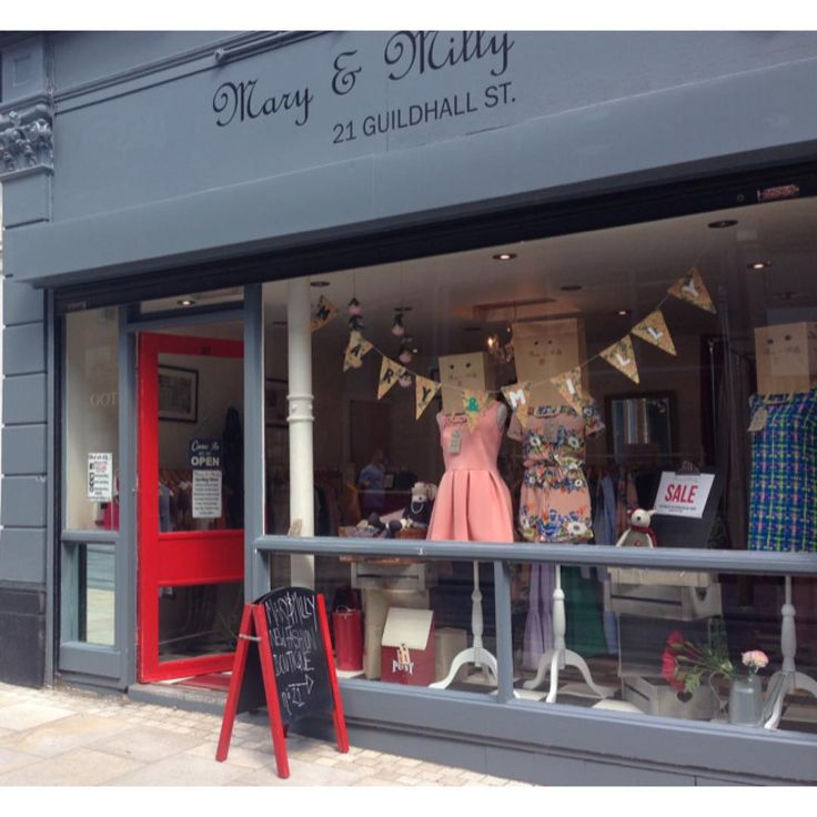Check out our new summer window display! Better yet everything there has an offer on!! Come into 21 Guildhall Street, Preston City Centre to have a first look!!! Shop the full collection at www.maryandmilly.co.uk