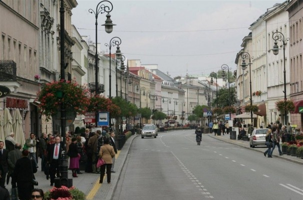 Nowy Świat - One of my favorites in Warsaw