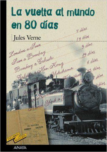 """¿Qué puedo contaros de la """" La vuelta al mundo en ochenta de días """" de Julio Verne que ya no sepáis? Es un clásico atemporal válido para muchas generaciones, una historia de aventuras que como casi toda su obra, se adelantó a su tiempo. http://sinmediatinta.com/book/la-vuelta-al-mundo-en-ochenta-dias/"""