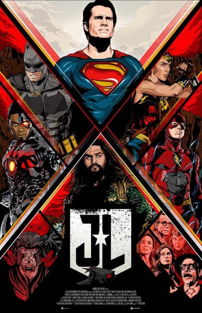 Justice League Movie Easter Eggs Movie Poster