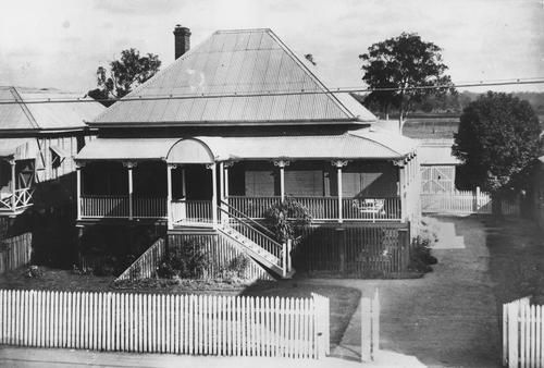 Queensland National Bank residence at Laidley 1922