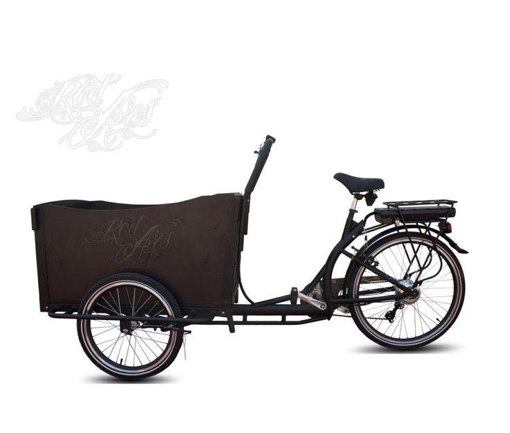 Tricycle électrique pour transport de personnes * Hermès *