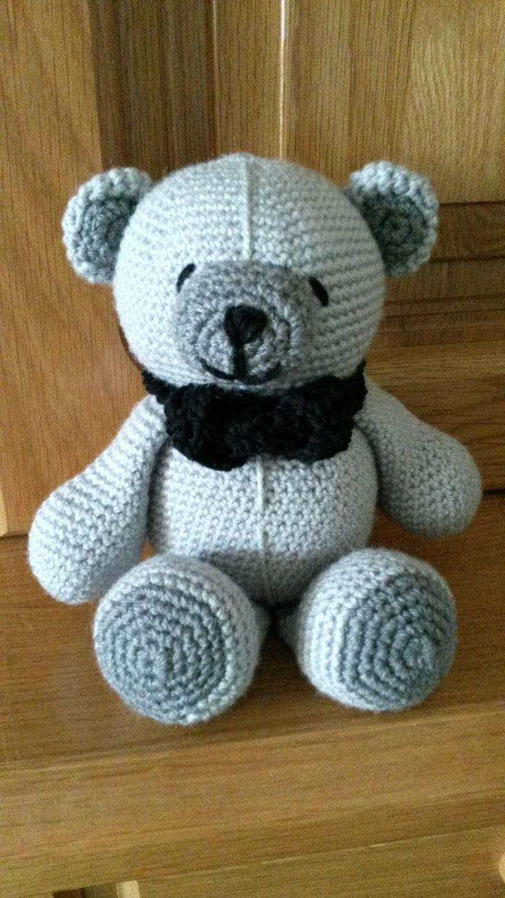 25+ beste idee?n over Gehaakte beer patronen op Pinterest ...