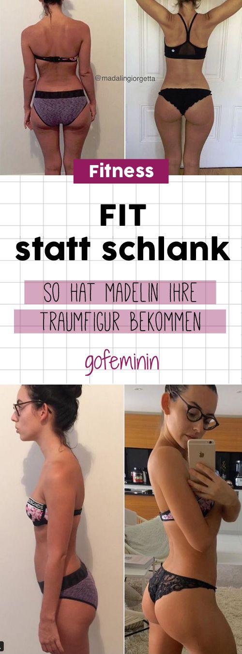 Mehr Kalorien und trotzdem eine bessere Figur? Das geht! Fit ist das neue schlank! #workout #abnehmen #fitspo #fitness