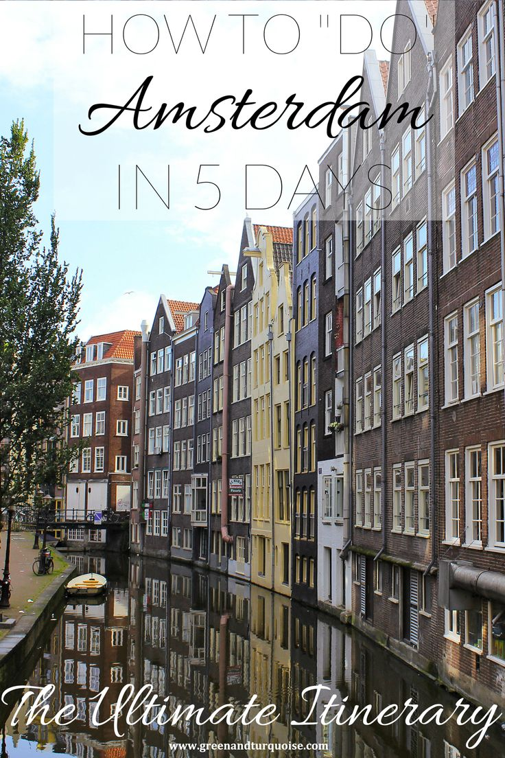 Is it possible to explore Amsterdam in 5 days? Yes!  I think most people don't expect to find that many cool things to do in #Amsterdam, making it all about sex-museums and coffee shops. Short story: it's not. Amsterdam is sensational and there's a lot more to the city. But you'll see what I'm talking about!  Let's get on to the itinerary, shall we?
