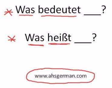 How to ask what something means in German.: Classroom German, Heritage German Language, Schools, Inverted Classroom, Deutsch Teaching, Deutsch Ideen, German Deutsch, Grandma Heritage German, Liebe Deutsch