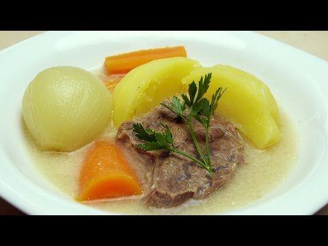 Düdüklüde Dana Eti Haşlama Tarifi - Terbiyeli İncik Haşlama Yemeği - YouTube