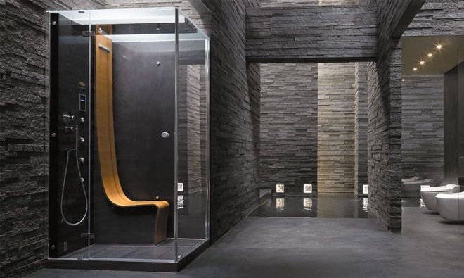 Cabine de douche design