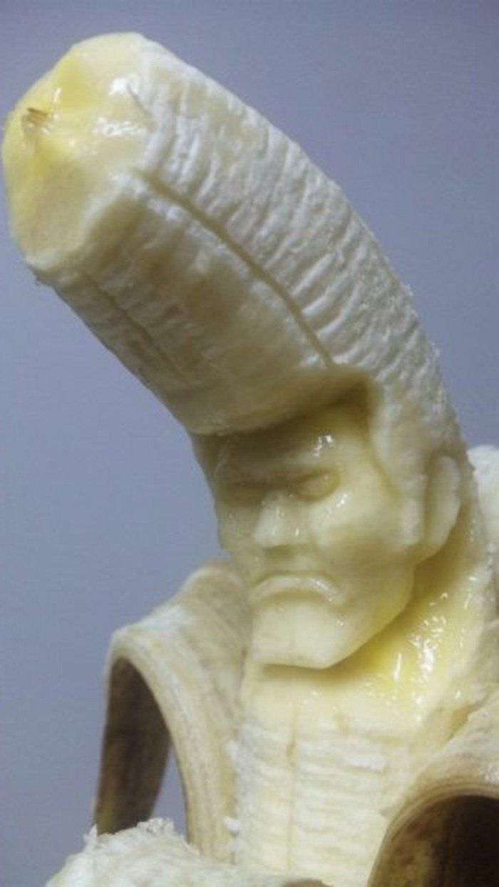 17 meilleures id es propos de sculptures sur fruits sur pinterest art alimentaire - Sculpture sur fruit ...