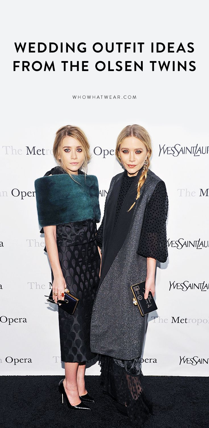 29 brilliant wedding guest outfit ideas from Mary-Kate and Ashley Olsen