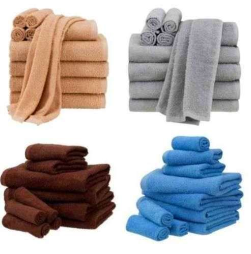 Cotton-100-10-Piece-Towel-Set-Bath-Towels-Hand-Towels-Washcloths-Bathroom