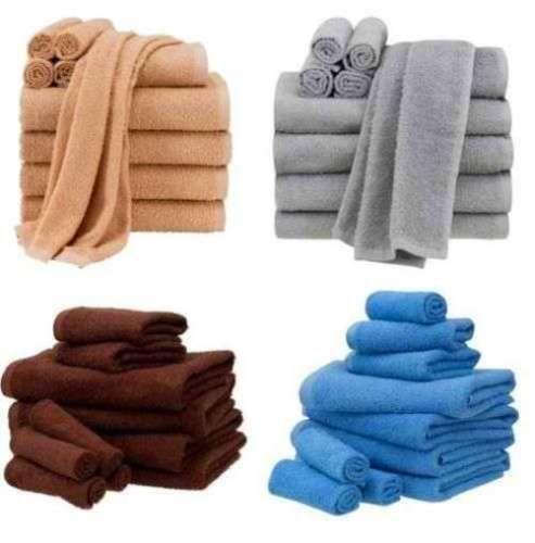 Cotton-100-10-Piece-Towel-Set-Bath-Towels-Hand-Towels-Washcloths-Bathroom