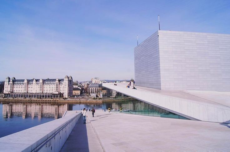 The beautiful opera house in Oslo     A video from my trip to Oslo will be up later this week.