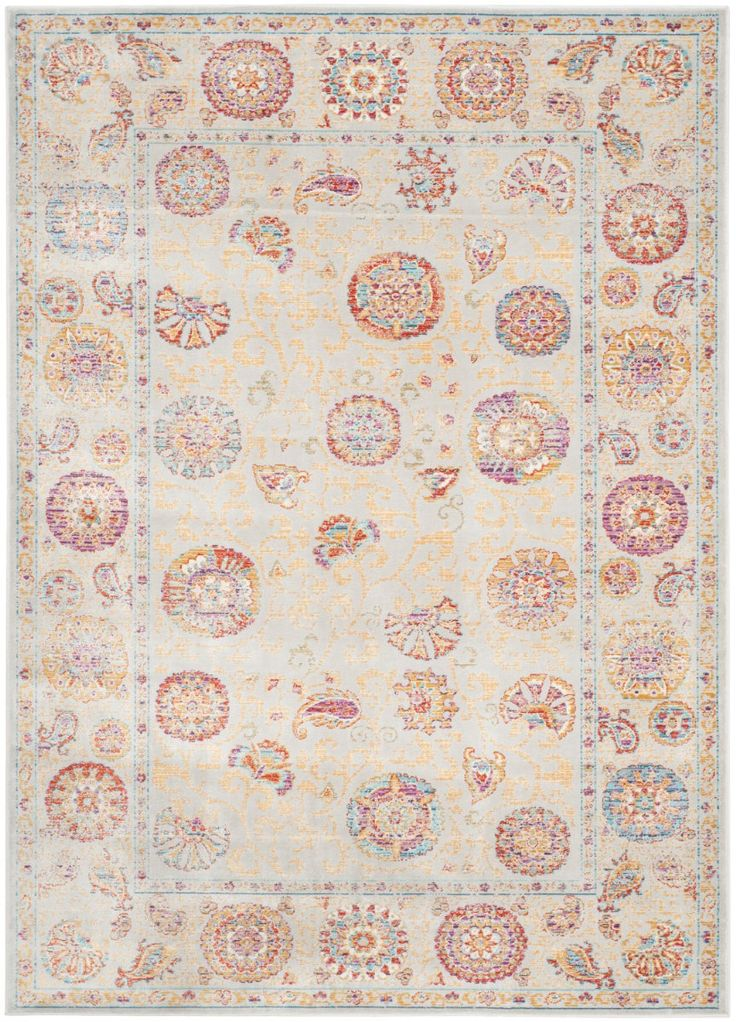Made in Belgium from luxurious, silky, natural viscose, the Seville collection is a modern twist on classic motifs. With a wide range of bright and vibrant colors, these rugs combine modern day colors with traditional Persian motifs that are made...