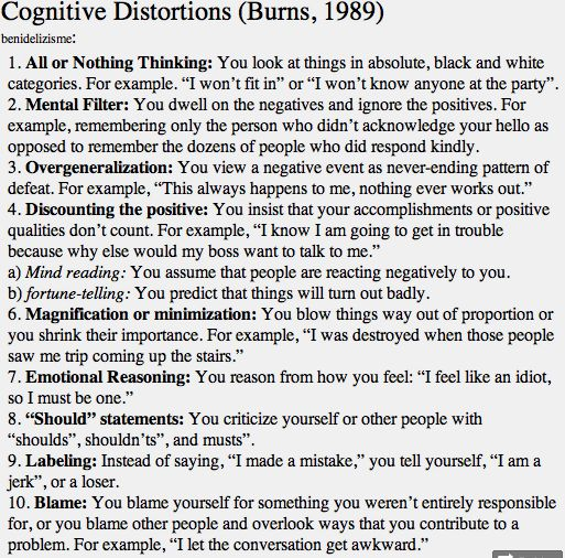 Printables Cognitive Distortions Worksheet 1000 ideas about cognitive distortions on pinterest behavioral therapy and therapy