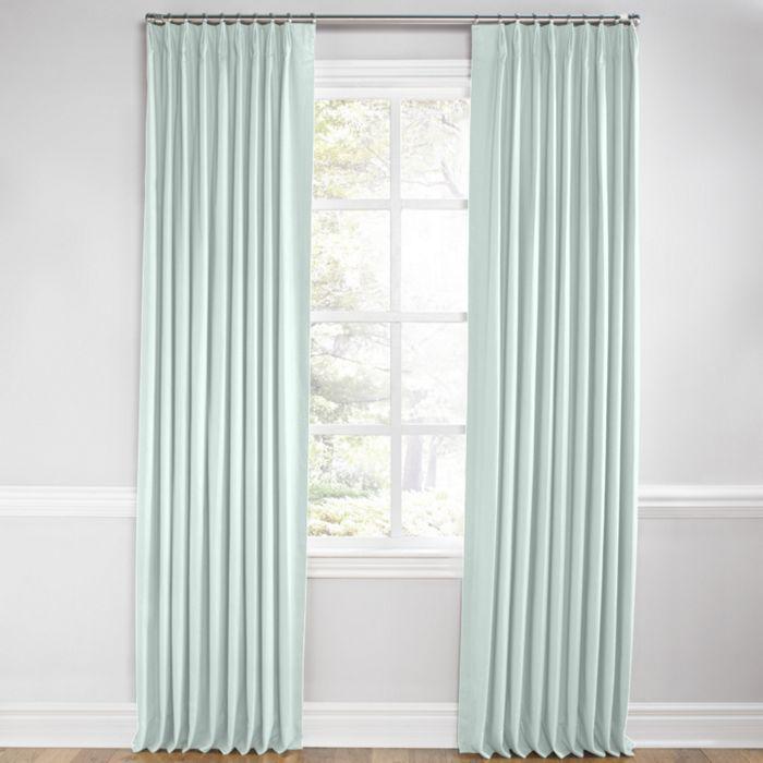 Euro Pleat Drapery Pleated Curtains Drapery Modern Room