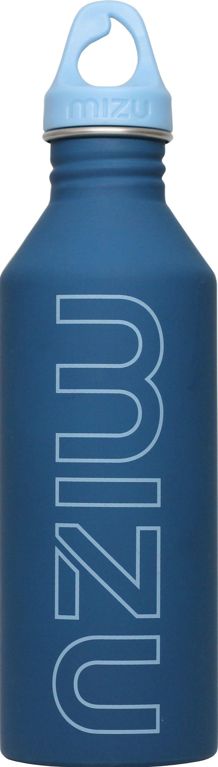 Mizu bottle blue