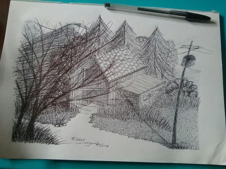 Penna Bic e foglio da disegno sottile 100g, di Elider Creation.  #EliderCreation, #Bic