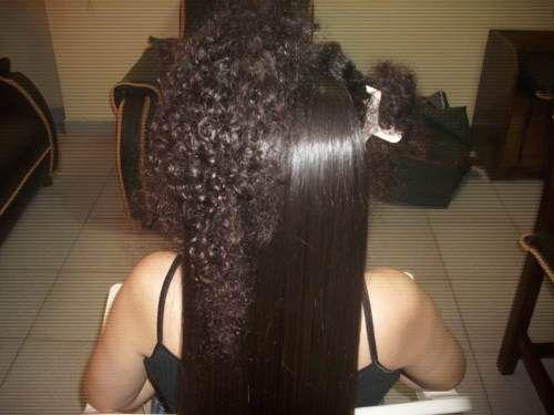 El proceso utiliza la keratina, que es una proteína natural que se encuentra en el cabello y las uñas por lo que no hace ningún daño al tallo del cabello. El proceso consiste en una solución de keratina que se aplica directamente sobre el cabello.