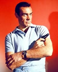 Sean Connery wearing his Rolex Submariner.
