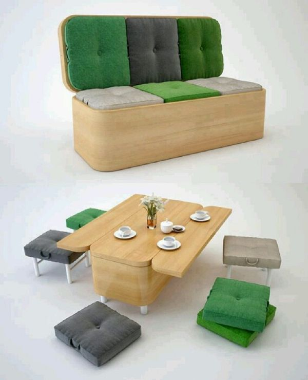 Great idea for maximizing space for living in a Tiny House with this genius  couch. 279 best Furniture   Transforming   Multi use images on Pinterest