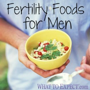 Find out which foods your man should add to his menu and which ones to take off the table.
