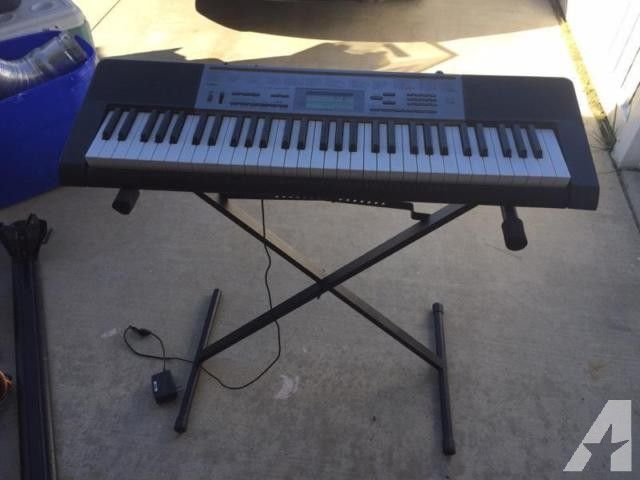 Casio Piano Keyboard with stand for Sale in Chino, California Classified | AmericanListed.com