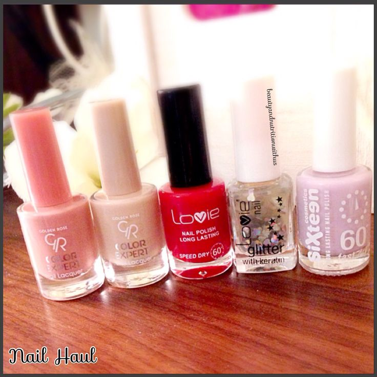 Nail Haul!!!Golden Rose!!!Lovie!!!Sixteen!!!Red!Nude!