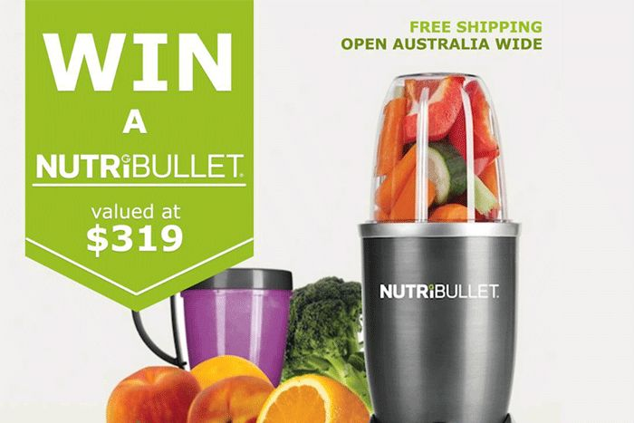 Enter Now to Win a NUTRiBULLET – Say Goodbye Boring, Hello Healthy