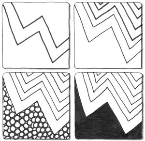 107 best Official Zentangle Patterns images on Pinterest ...