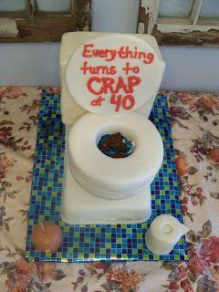 Let Them Eat Cake!: Toilet Cake Tutorial