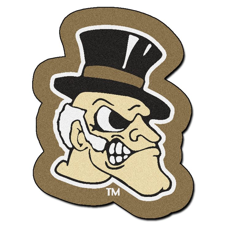 NCAA Wake Forest University Mascot 40 in. x 30 in. Non