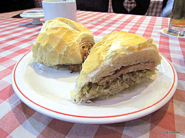 Amigo Leal, comida alema, bar tradicional de sp, Republica, sanduiche de kassler co chucrute (2)