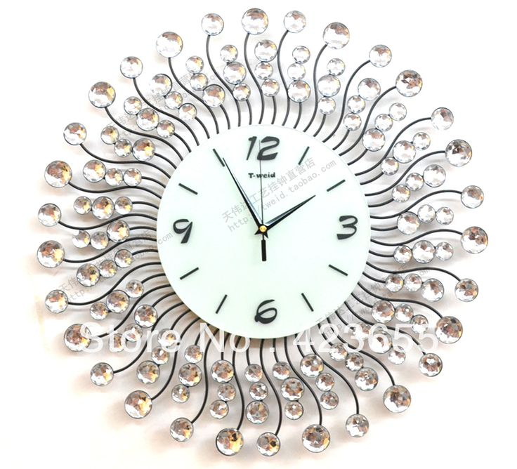 Top 25 ideas about clocks on pinterest modern modern for Living room wall clocks