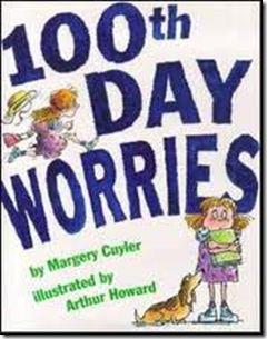 100th Day Worries ~ book to read