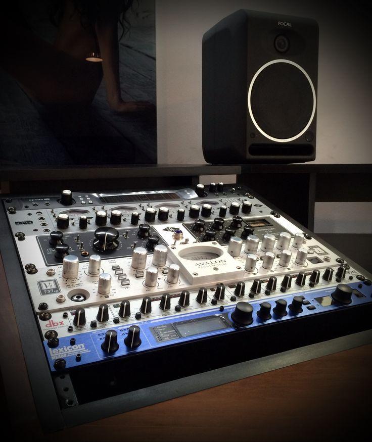 set up home estudio promusic, con avalon, lexicon, universal audio