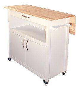 Amazon.com: Catskill Craftsmen Drop Leaf Utility Cart: Furniture & Decor