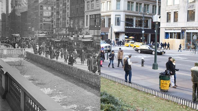 Vintage Vs Current #NewYork during the holidays.  So cool.  #Christmas…
