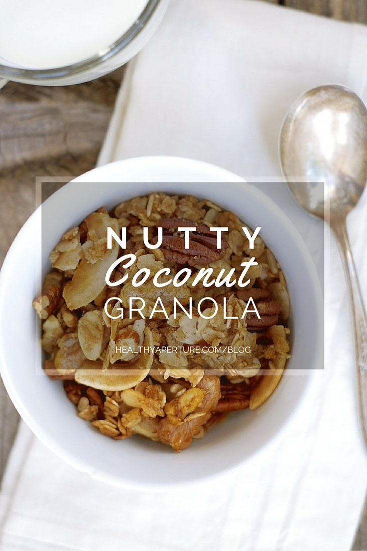Whether you're an early riser or not, this simple granola recipe can be a great whole grain, gluten-free way to start your day.