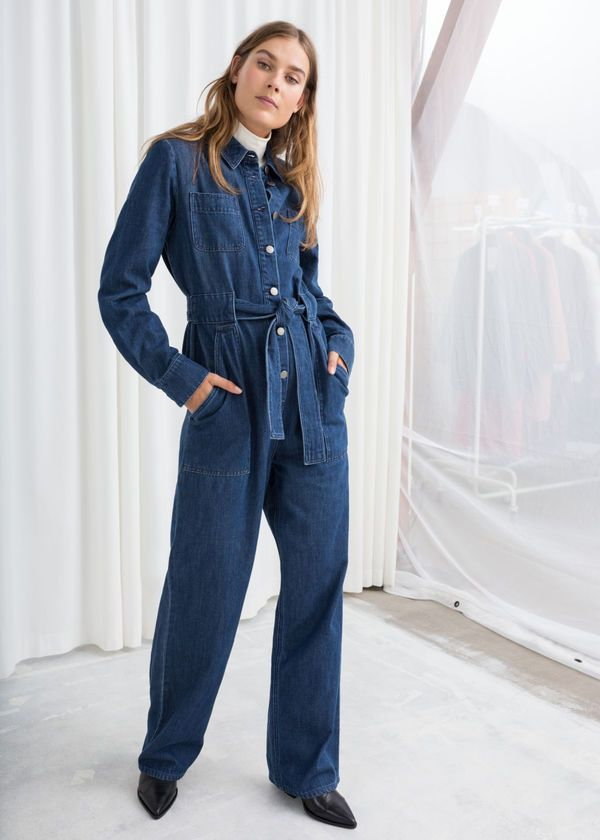ece53637cdd The boilersuit trend gets an update with this Ganni Faust jumpsuit ...