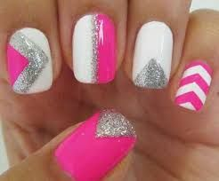 Image result for rounded light pink acrylic nail designs