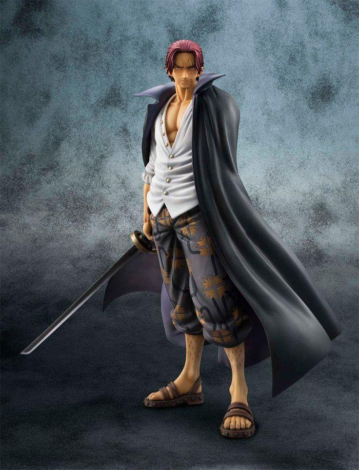 "Estatua One Piece. Neo-DX Shanks 25 cm. Línea P.O.P. MegaHouse Espectacular estatua de Shanks de 25 cms de altura de la serie ""One Piece"" de la línea P.O.P (Portatit Of Pirates). ¡Fantástica en todos los aspectos!"