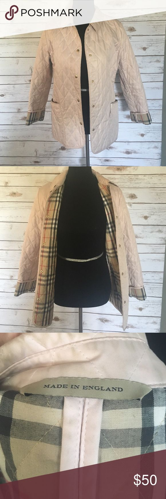 Burberry jacket Authentic Burberry jacket in light pink Burberry Jackets & Coats