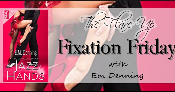 Hi readers! It's Fixation Friday again. Today I'm joined by romance/ erotica author, Em Denning. Her new release, Jazz Hands, is the th...