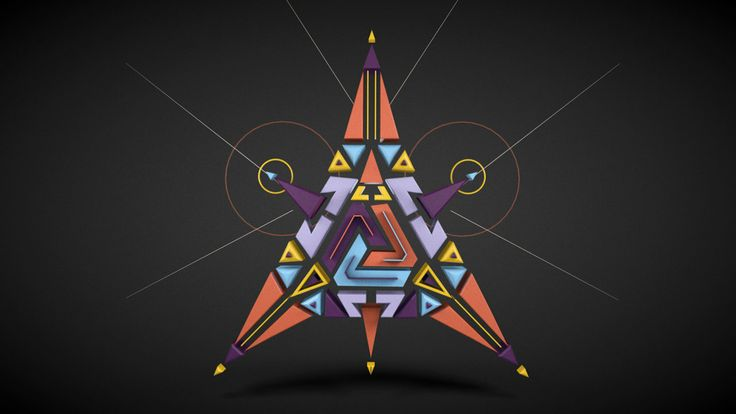 Symmetricise - Geometric Symmetry Exercise by Design By Kai. Sound Design by Sean Holmberg