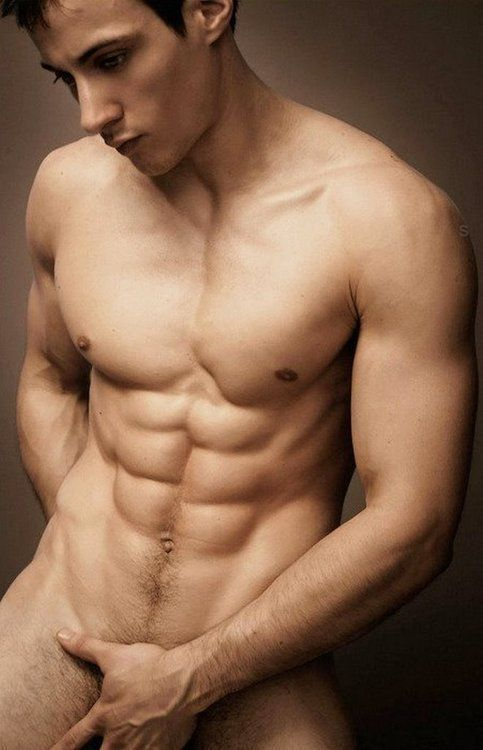 Hot nude men with abs